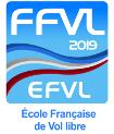 Logo FFVL-EFVL 2019